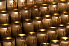 Free Candles In Notre Dame Royalty Free Stock Image - 24359746