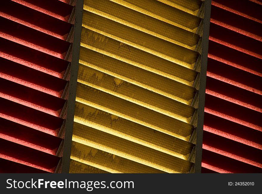 Spanish flag window