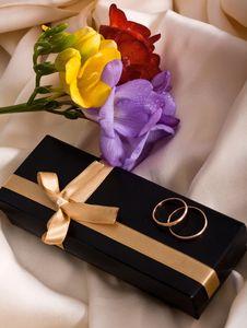Free Wedding Card. Royalty Free Stock Photography - 24360577