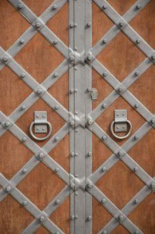 Free Wooden Door Royalty Free Stock Images - 24361789