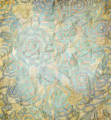 Free Floral Pattern Paper Stock Image - 24365011