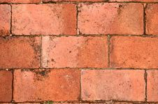 Free Terra Cotta Brick Floor Royalty Free Stock Images - 24367049