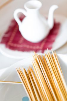 Free Bamboo Skewers Stock Images - 24369634