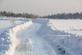 Free Winter Road. Stock Photo - 24374730