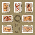 Free Stamp Collection Royalty Free Stock Images - 24377669