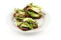 Free Smoked Sardines Sandwich Royalty Free Stock Photos - 24378248