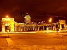 Free Kazanskyj Cathedral. Royalty Free Stock Photos - 24379938
