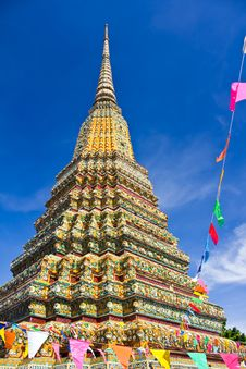 Free Authentic Thai Architecture In Wat Pho Stock Photo - 24381100