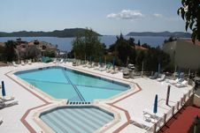 Free Turkish Hotel Pool Stock Images - 24381974