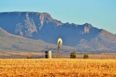 Water Pump Windmill Royalty Free Stock Photo