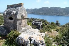 Free Lycian Tombs Stock Images - 24382664