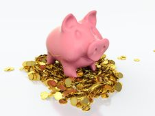 Free Piggy Bank Stock Photo - 24383590