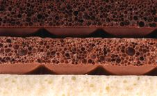 Free Porous Chocolate Stock Photography - 24385332