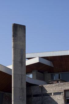 Modern Building In Grenoble Stock Photos