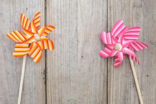 Free Toy Pinwheel Stock Images - 24387014