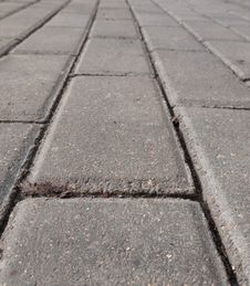 Paved Road Royalty Free Stock Photos