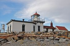 Free Lighthouse At Discovery Park Stock Photos - 24389163