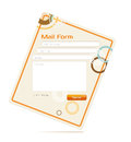 Free Vector Contact Form Stock Photography - 24393252