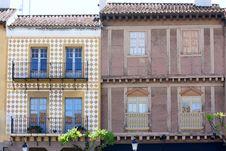 Free Spanish Village In Barcelona, Spain Royalty Free Stock Photo - 24391065