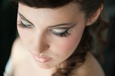 Free Closeup Makeup Stock Image - 24392151