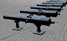 Free French Cannons Stock Photos - 24393283