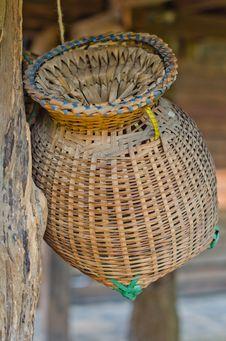 Free Ancient Fishing Equipment. Royalty Free Stock Photo - 24393365