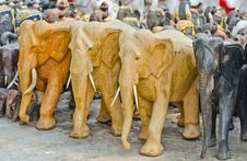 Free Elephants  For Worship. Royalty Free Stock Images - 24394179
