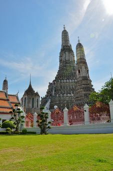 Free Wat Arun In Thailand Royalty Free Stock Image - 24394226