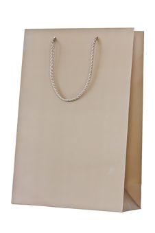 Free Brown Paper Shopping Bag Stock Image - 24394371
