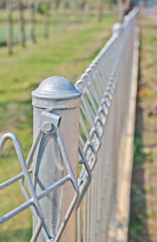 Fence. Stock Photography