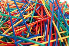 Free Messy Arragement Of Plastic Straws Stock Image - 24396201