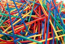 Free Messy Arragement Of Plastic Straws Stock Image - 24396201