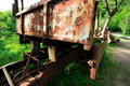 Free Old Rusted Trailer Royalty Free Stock Image - 2440166
