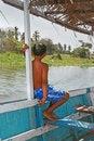 Free Boy On Boat I Royalty Free Stock Images - 2441649