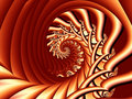 Free Future Spiral Red Art Stock Photography - 2446522