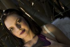 Free Evil Breast Fairy Royalty Free Stock Photos - 2440018