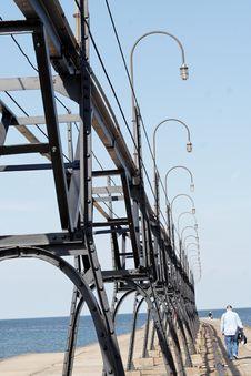 Free Pier Walk Stock Photography - 2440532