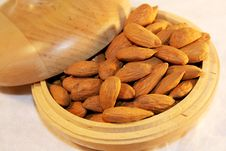 Free Almonds Royalty Free Stock Photo - 2440655