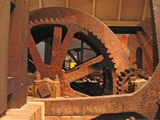 Free Rusty Gears Stock Photography - 2441792
