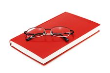 Free Book With Eyeglasses Stock Photography - 2443772