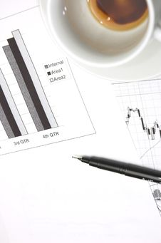 Free Business Growth Chart. Royalty Free Stock Photos - 2443788