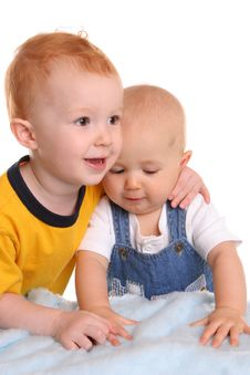 Free Siblings And Best Buds Royalty Free Stock Photo - 2444015
