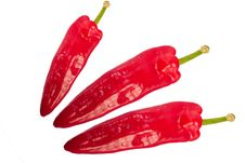 Free Sweet Chilli Peppers Royalty Free Stock Photo - 2444065