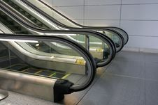 Free Escalators Royalty Free Stock Images - 2444939