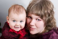 Free Mother And Daughter Stock Photography - 2445612