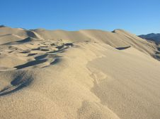 Eureka Dunes Royalty Free Stock Images