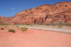 Free Red Canyon Royalty Free Stock Image - 2446226