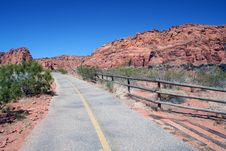 Free Canyon Road Stock Photography - 2446292