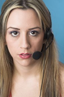 Free Receptionist Stock Photography - 2446722