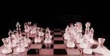 Free Chess - Mid Game Royalty Free Stock Images - 2446789